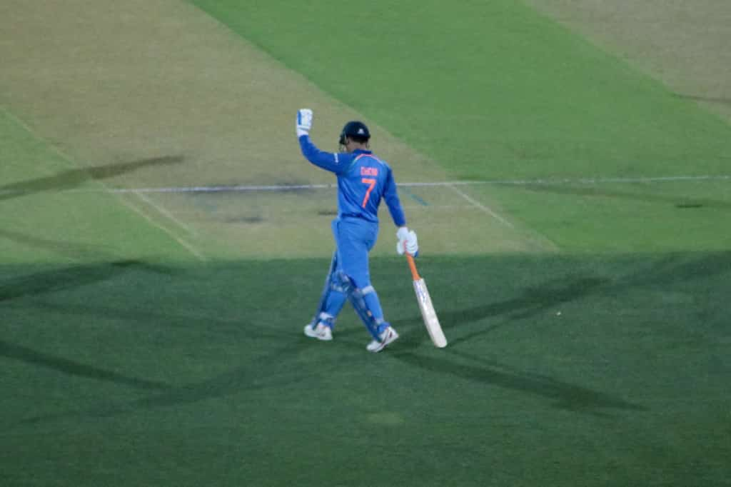 MS Dhoni scoring the winning runs for India:  ODIs - 30 times (47 Not Outs) T20Is - 10 times (15 Not Outs) Tests - 3 times (4 Not Outs)  Best Finisher in The World   #DhoniNeverTires l @msdhoni <br>http://pic.twitter.com/HoMaD2uOrF
