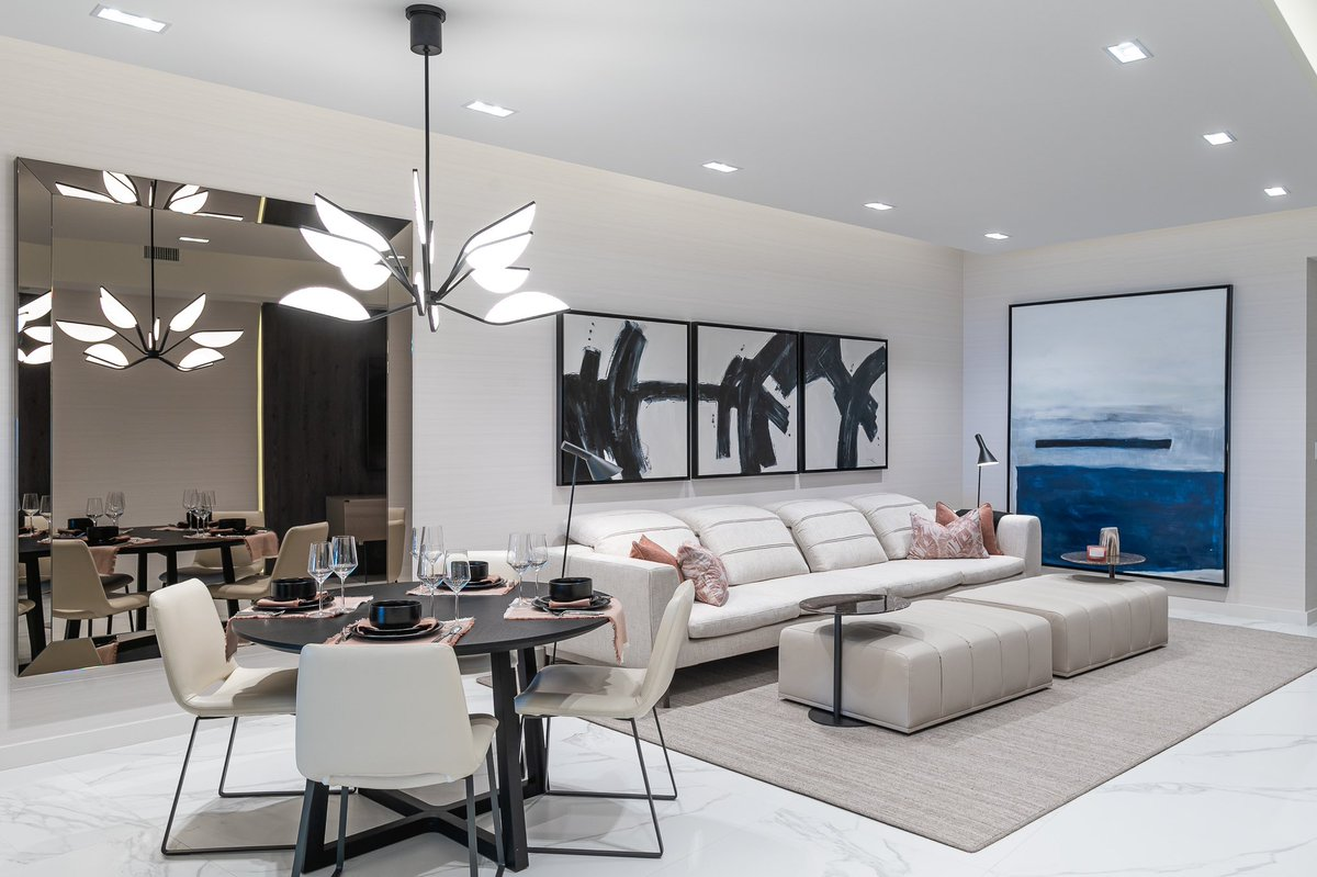 Interiors By Steven G On Twitter A Casual Yet Sophisticated Design Of This Gorgeous Family Area In Our Model Unit At Auberge Beach