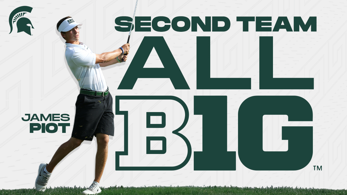 Congrats to James Piot on earning Second Team All-Big Ten!