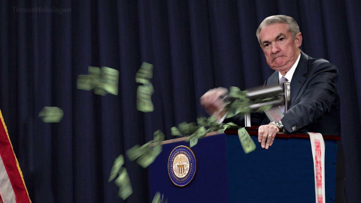 Jerome Powell Printing Money (@JeromePrinting) | Twitter