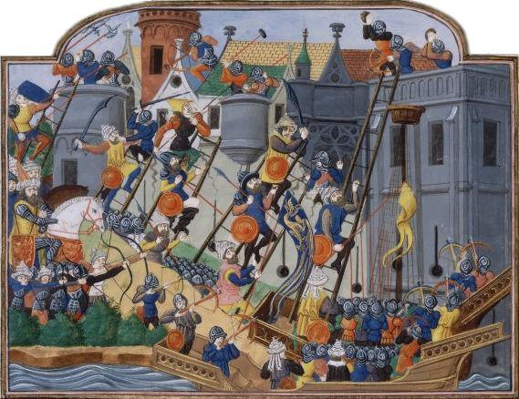 On this day in 1453, the city of Constantinople falls to the Ottomans marking the end of the Byzantine Empire <br>http://pic.twitter.com/rBikYPCRrD