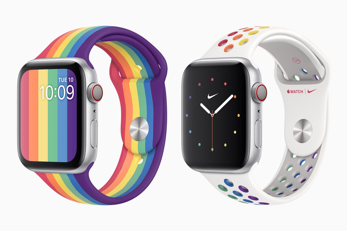 Apple celebrates Pride with new Apple Watch bands and watchfaces