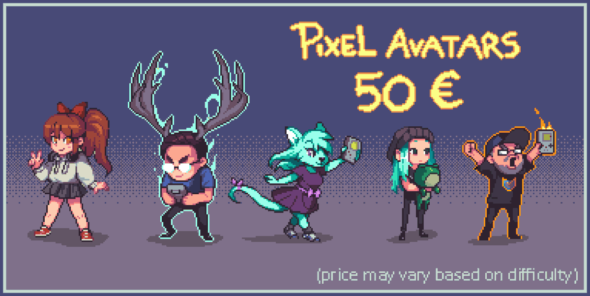 Tomas Praestholm On Twitter Closing Drawing Painting Commissions For Now Inquire Within For Other Types Of Pixel Art Jobs