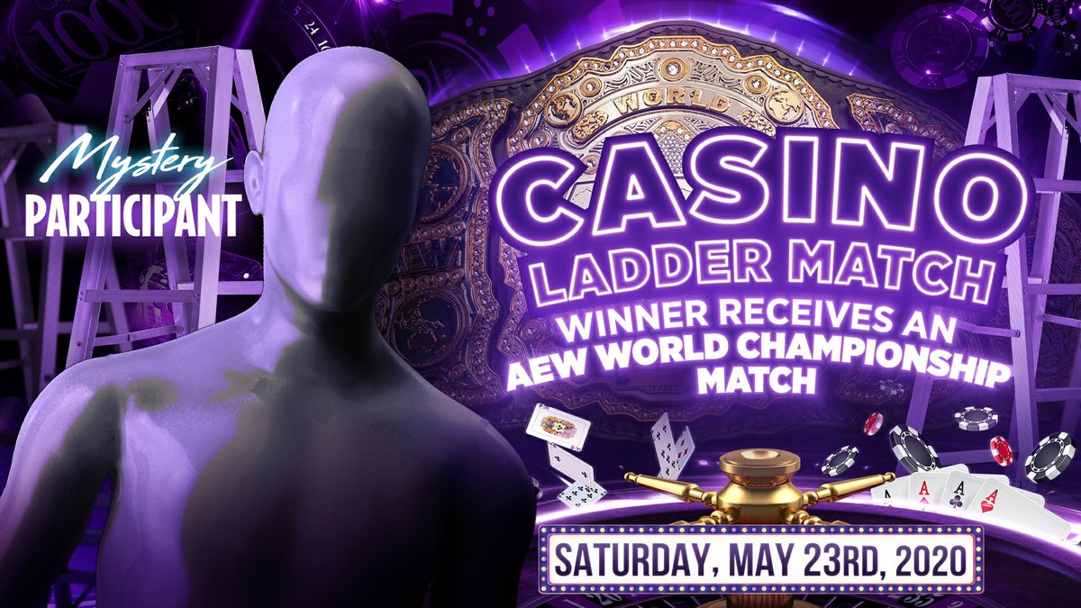 Mystery Man Announced For Casino Ladder Match At AEW Double Or Nothing