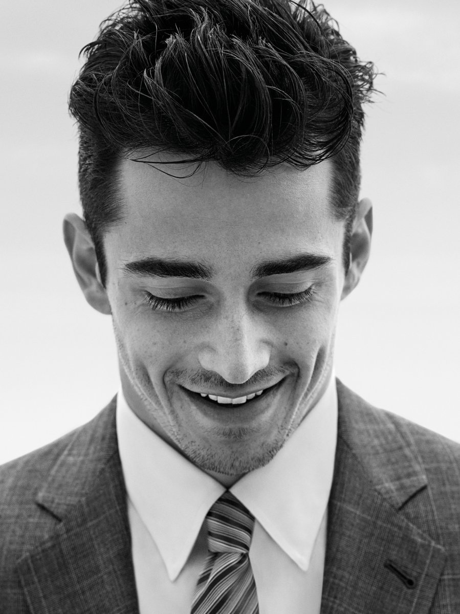 Announcing Formula 1 Driver Charles Leclerc as the ambassador for the #GiorgioArmani Made to Measure Spring Summer 2020 Campaign.  @Charles_Leclerc   Credits: John Balsom https://t.co/rMUSSrVA9y