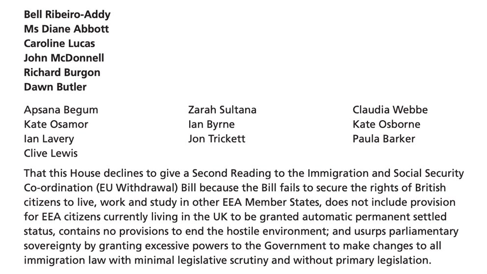 The Immigration Bill gives sweeping new powers to the Government to change immigration laws without proper scrutiny. The gross injustices of the Windrush scandal show why this would be a huge mistake. Thats why Ive joined with colleagues to put forward this amendment.