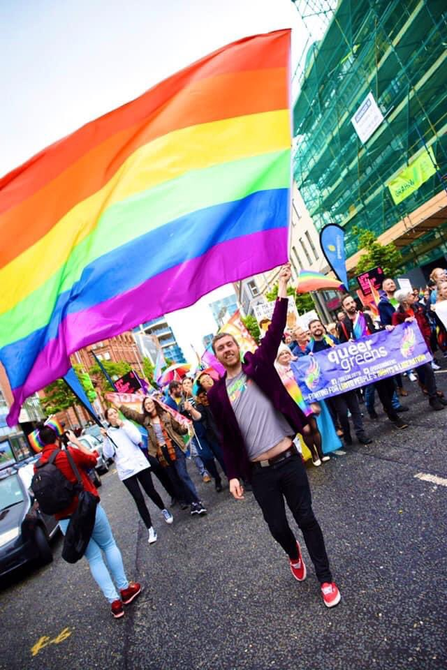 A year ago we marched for the last time for Equal Marriage. Now on to the rest of that queer agenda! Much much to do. A sexual orientation strategy has been promised since 2007 by the Executive Parties. Time to deliver and resource it. #equalmarriage #liberation pic.twitter.com/zsWcgXDoG5