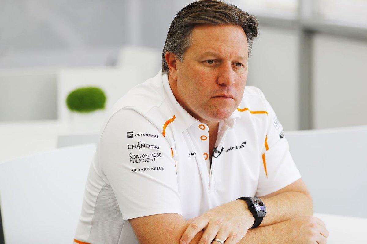 """Zak Brown had Fernando Alonso teruggehaald in de Formule 1 als hij de leiding had gehad bij Renault. """"Vanuit Renaults perspectief is het denk ik een inkoppertje."""" #f1nieuws #Alonso https://t.co/KDpBvPLCQi https://t.co/4A9bj6W67U"""