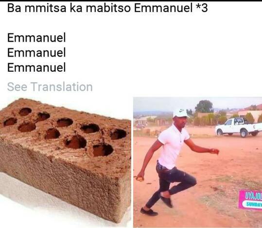 @uyajola99 @Uyajola99SA wayishubisa bhuti Emmanuel 🤣🤣🤣