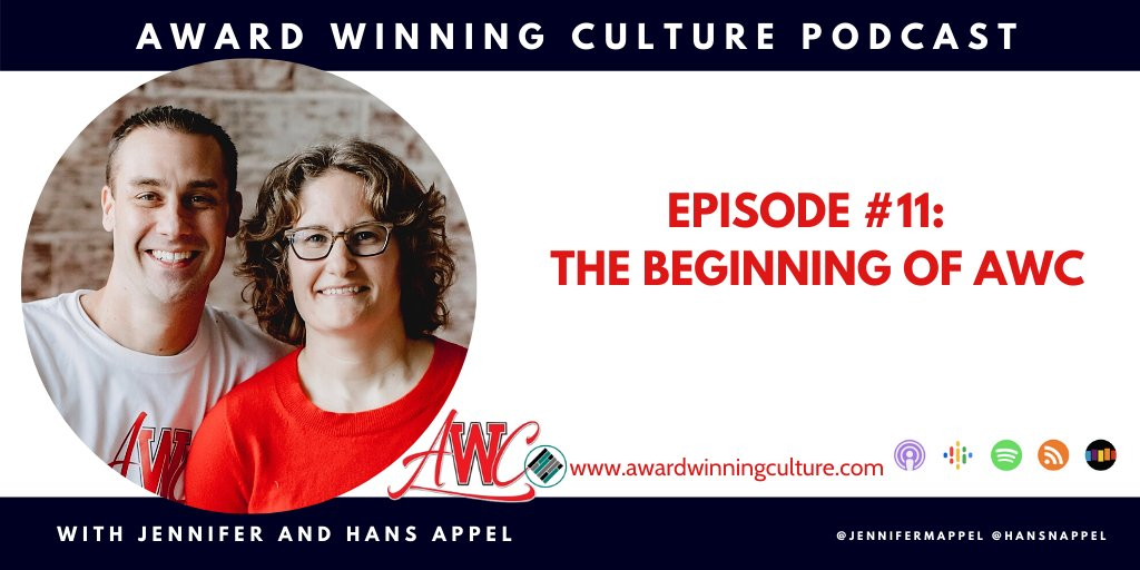 NEW EPISODE: AWC Episode #11 - The Beginning of AWC The Key to a successful organization is building leadership capacity in everybody else you serve. @HansNAppel #AwardWinningCulture #Podcast buff.ly/3bEXBDP
