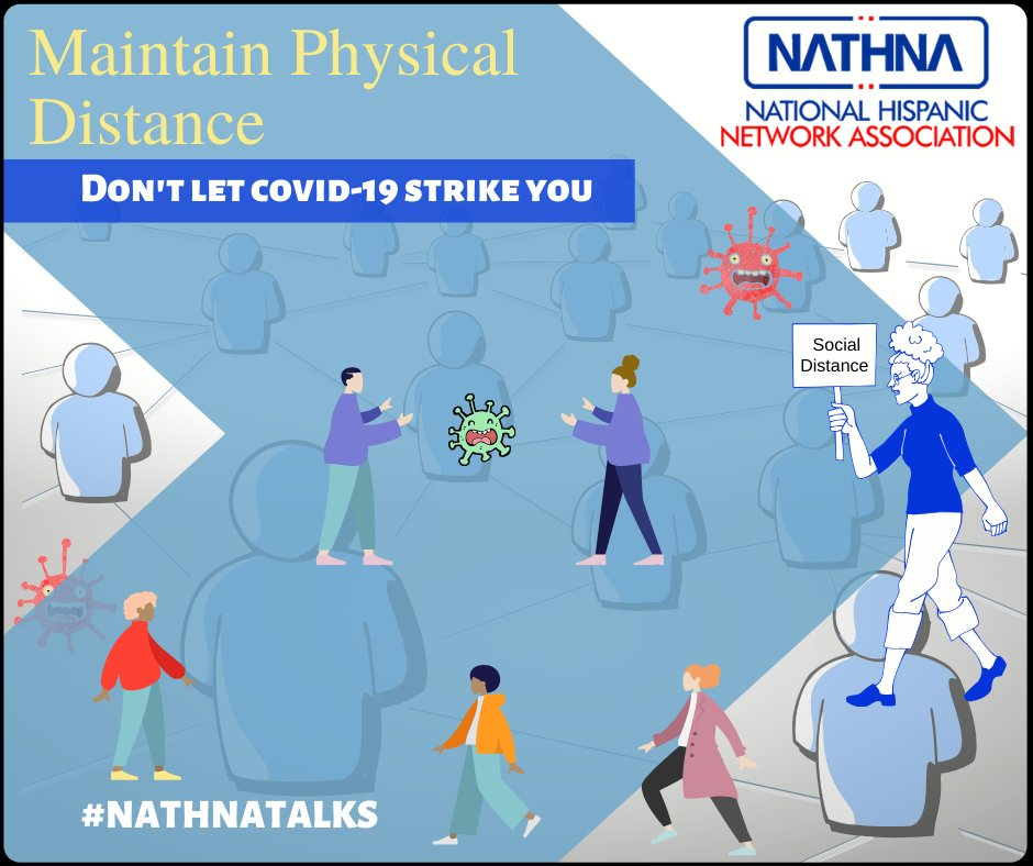 Limiting face to face contact with others is the best way to reduce the spread of coronavirus. Avoid gatherings, parties, chilling out sessions with more crowded areas. Maintain at least 1m distance from one another. #covid19 #nathnatalks #socialdistance #Nogatherings #Arizona