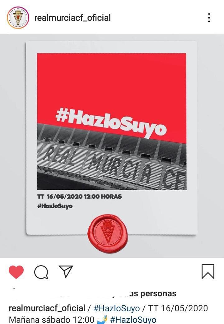 @LaLiga @RCD_Mallorca @RealSociedad Ayuda. Difusión RT ampliación de capital @realmurciacfsad. 5/10/20€, desde 0,122€ acción. Hazte con trocito de un club histórico. Vamossss #hazlosuyo   https://t.co/u65FZlZPmm https://t.co/v6SdGoMwGY