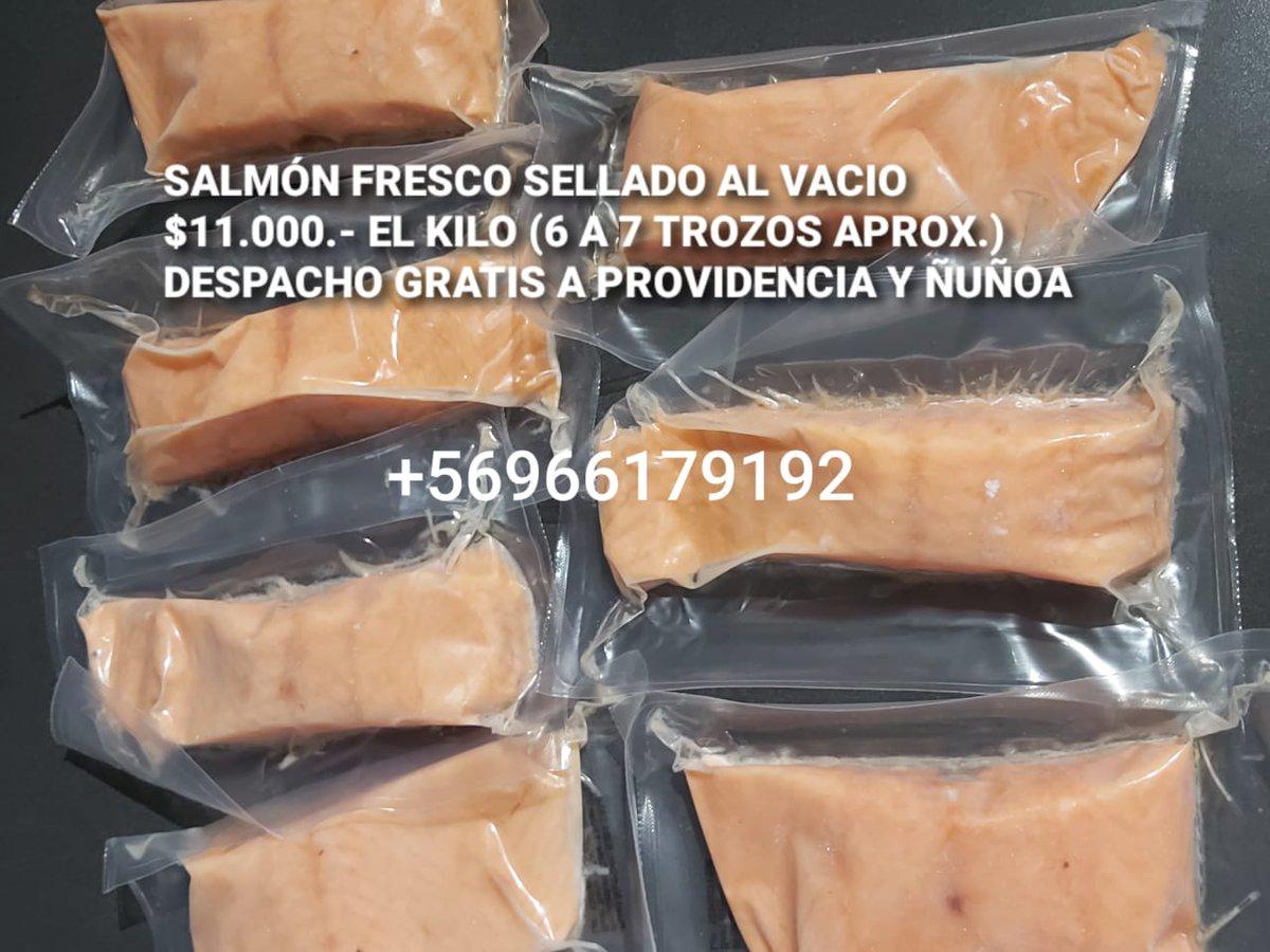 Si no puede salir, yo se lo voy a dejar.  #salmon #atun #productos #congelados #CuarentenaTotalSantiago #cuarentena #coronavirus #Covid_19 #Covid19Chilepic.twitter.com/jFnS3eOOCa