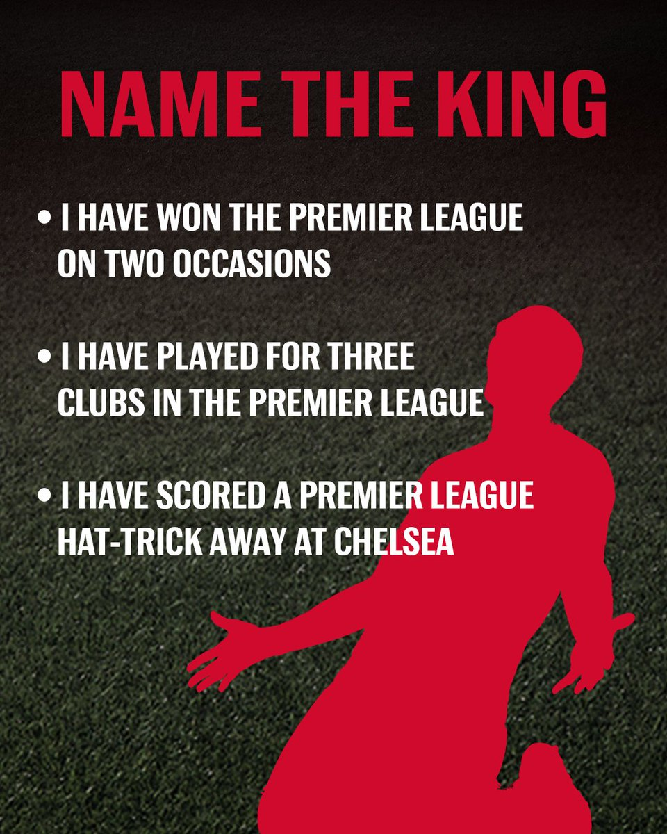 Name this former @premierleague King. #BeAKing