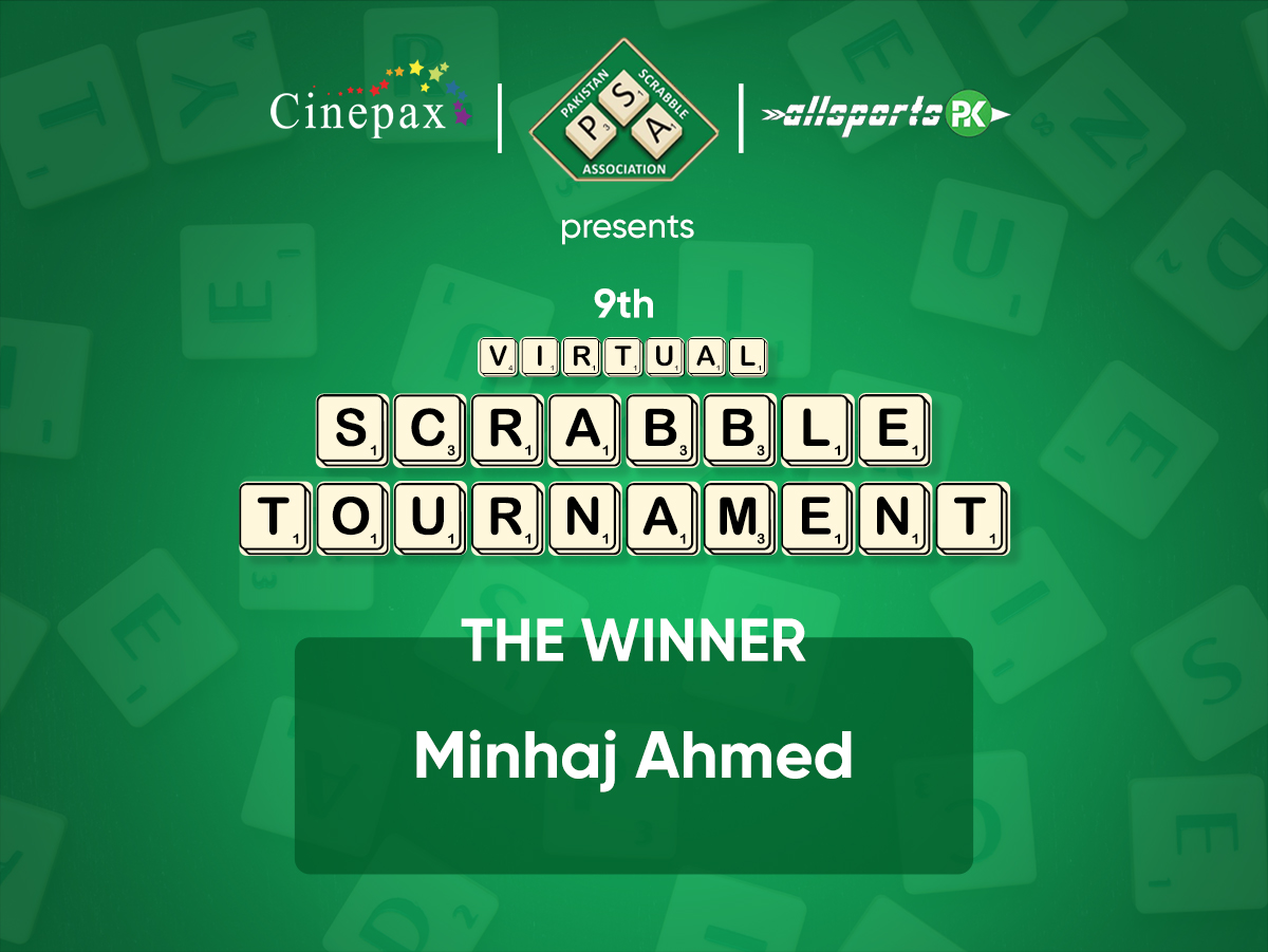 Congratulations on winning Virtual Scrabble Tournament held on 17th May, 2020.  https://t.co/mH2hvxCKNW  Stay tuned with @cinepax_cinema for Virtual Scrabble Tournament on each Sunday. https://t.co/6OFvoo2kkU