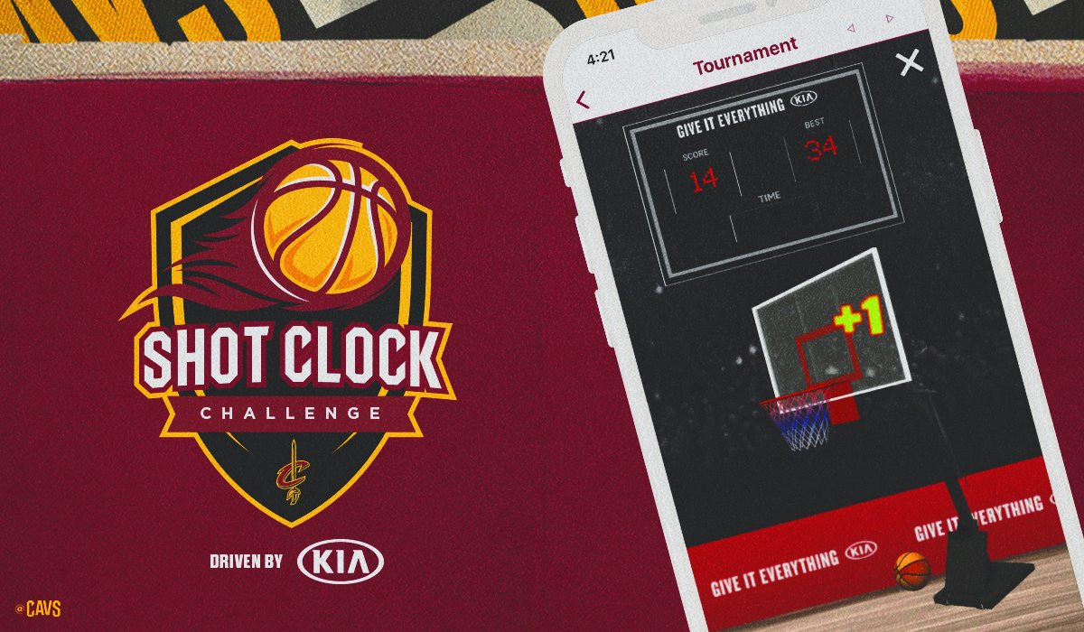 It's gameday and you're on the clock!  Compete against @Suns fans for bragging rights in today's Shot Clock Challenge, driven by @Kia!  DETAILS: https://t.co/0c9sPdYmh9 https://t.co/ND1BjBBZdy