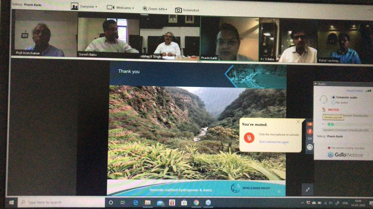 Hydropower had been instrumental in maintaining grid balance frequency during #9Minute9Baje solidarity call by PM @narendramodi.  To discuss the role and opportunities in the near future for Hydropower, #ASSOCHAM organised a #webinar on 'Hydro Storage Flexibility'.pic.twitter.com/ZcCXDlPlLz