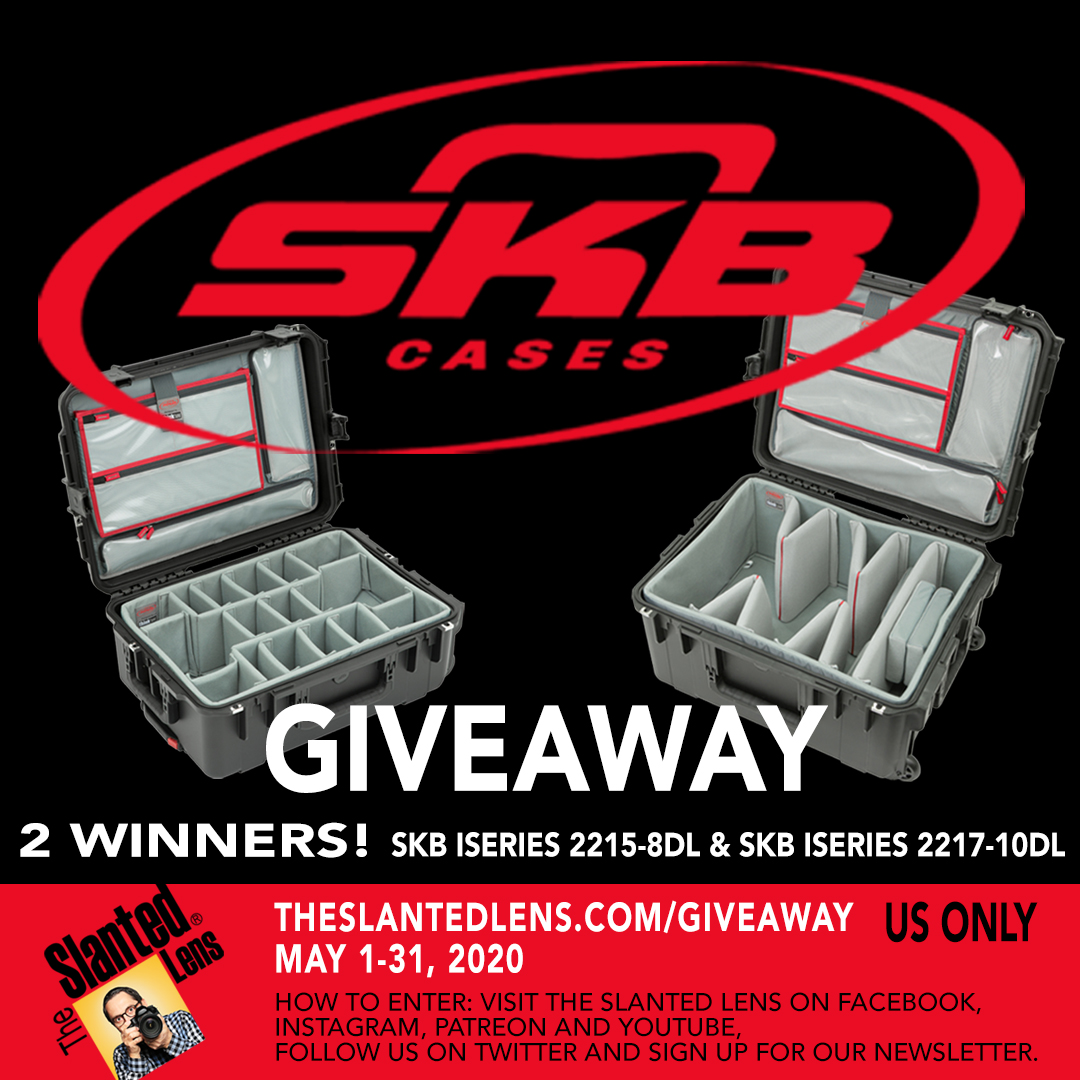 Its not too late to enter our GIVEAWAY! @SKBCases is giving away 2 cases to 2 lucky winners! You can enter on our website The Slanted Lens dot com at the giveaway tab. #skbcases #giveaway @theslantedlens #photo #video #contest
