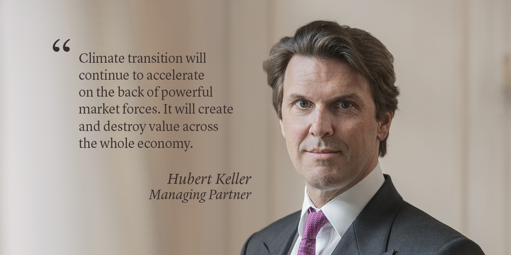 How will the pandemic affect the #climate transition agenda? According to our Managing Partner, Hubert Keller, lessons will be learned and we shall be better prepared against climate-related risks. Read more on the shift to a #sustainable economy here: tinyurl.com/ybu7g9rs