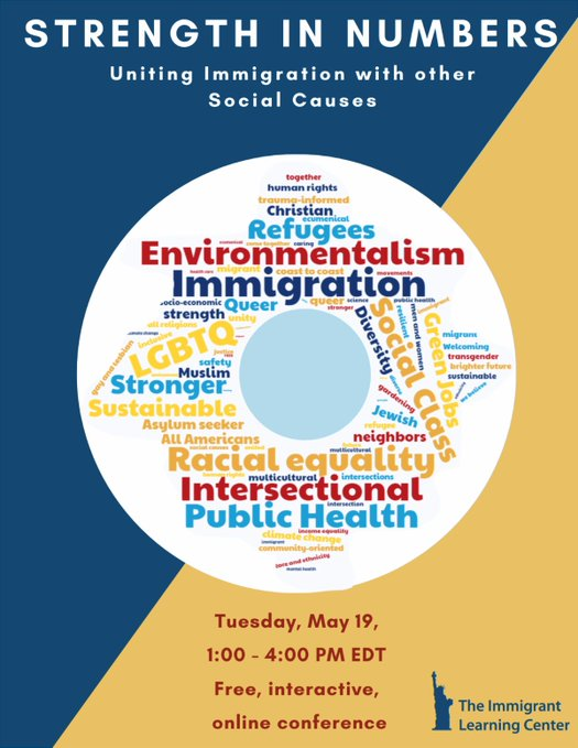 Our own ADL NE Director @rtrestan will be keynoting at the upcoming @ilctr Strength in Numbers: Uniting #Immigration with other Social Causes Webinar tomorrow.   For more information and to register, click here: https://t.co/igilEKhcGe https://t.co/n70ZxluPkb