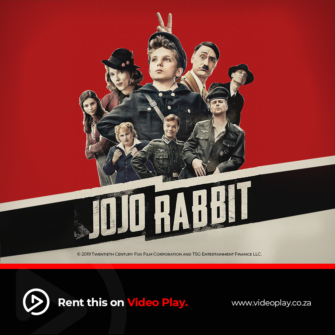 Aided only by his idiotic imaginary friend, Adolf Hitler, Jojo must confront his own blind nationalism. JoJo is Rabbit now available to rent on Video Play. https://bit.ly/2zNTlVn  #videoplayza #streaming #jojorabbit #movies #oscars #taikawaititi #scarlettjohanssonpic.twitter.com/6613VhSmHU