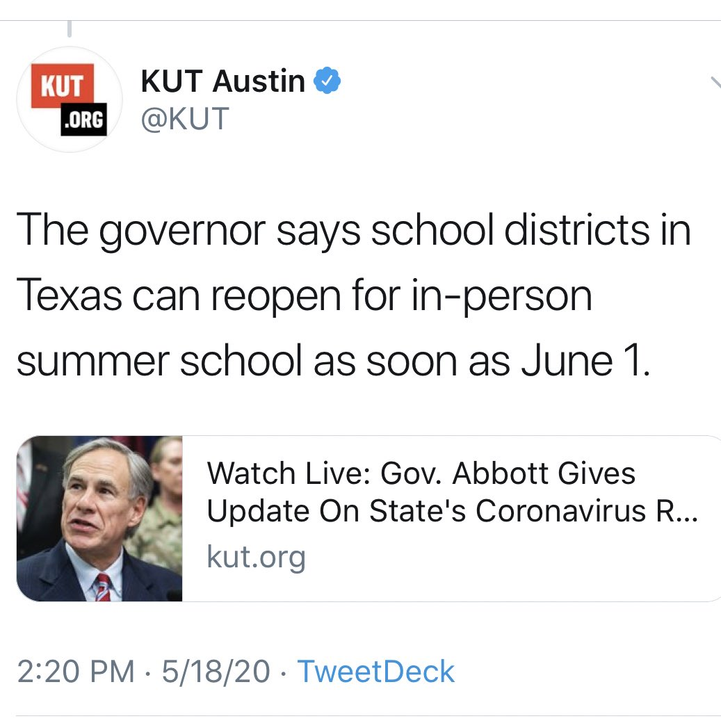 It's going to be a wonderful summer in Texas