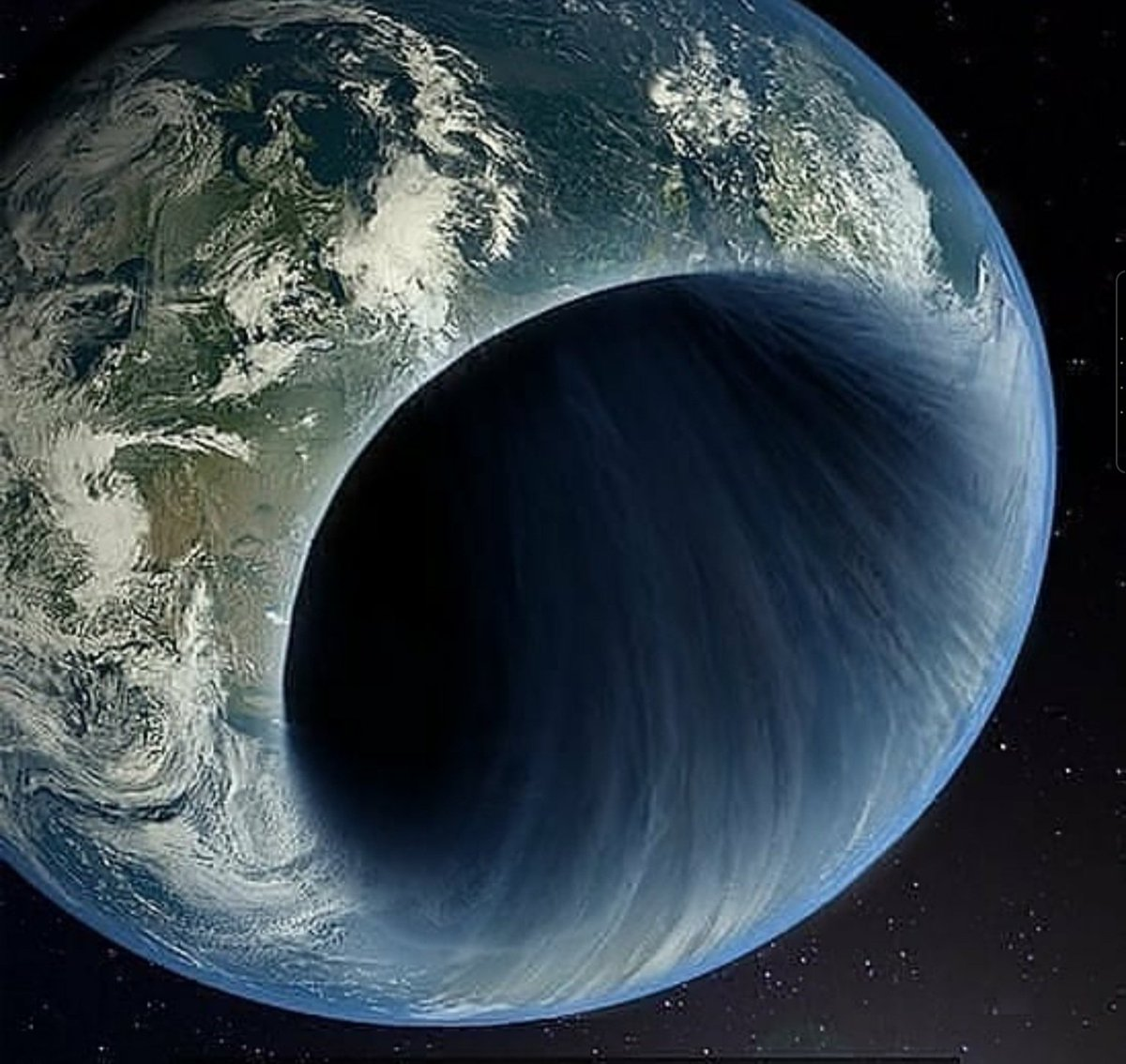 How about a black hole at the centre of the Earth for July then?...😀
