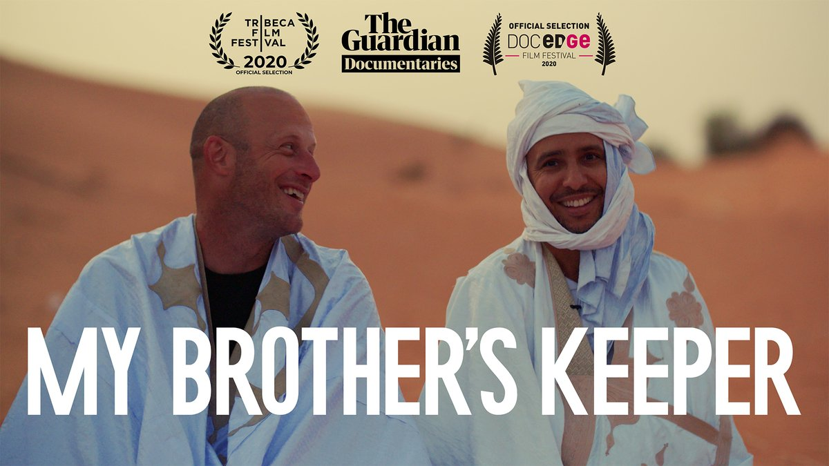 Incredibly proud that our @guardian doc about @MohamedouOuld + @Stevewood81OR will be screening online at the @Docedge film festival in New Zealand next month festival.docedge.nz/film/my-brothe…