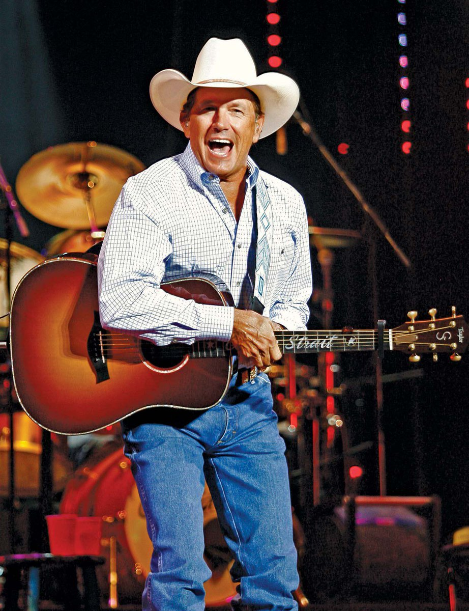 Happy birthday to Bobcat Alum/Country Singer @GeorgeStrait! 🎉 🎈 #EatEmUp