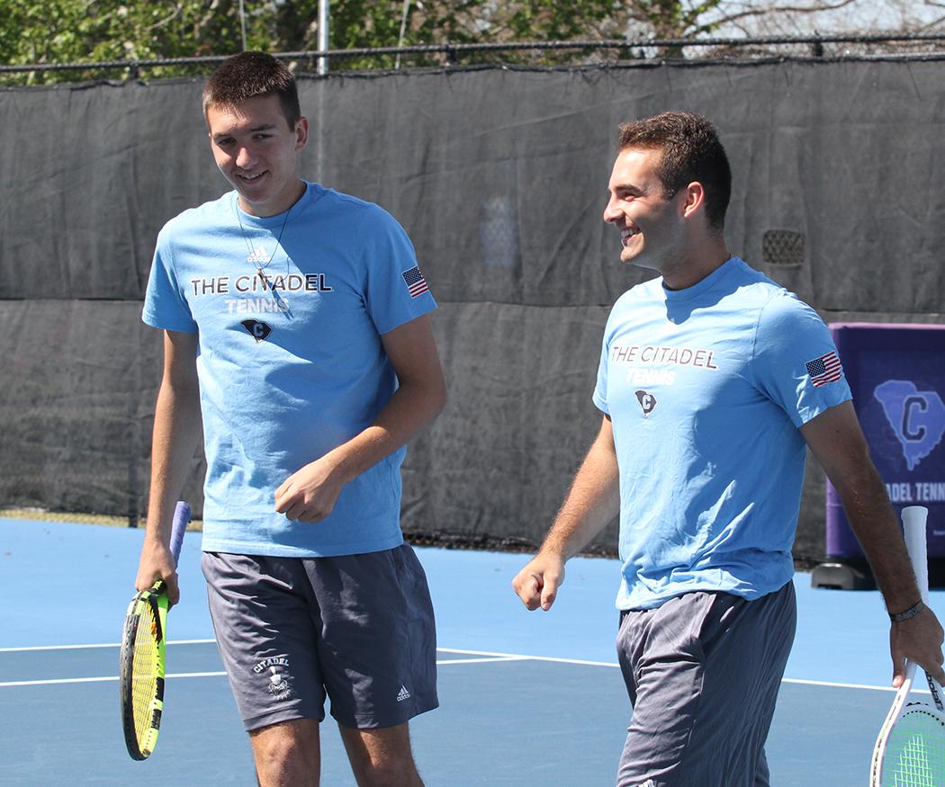 This duo is going to be tough to beat next year.  #Tennis | # CitadelMTEN pic.twitter.com/jtJJMEXseK