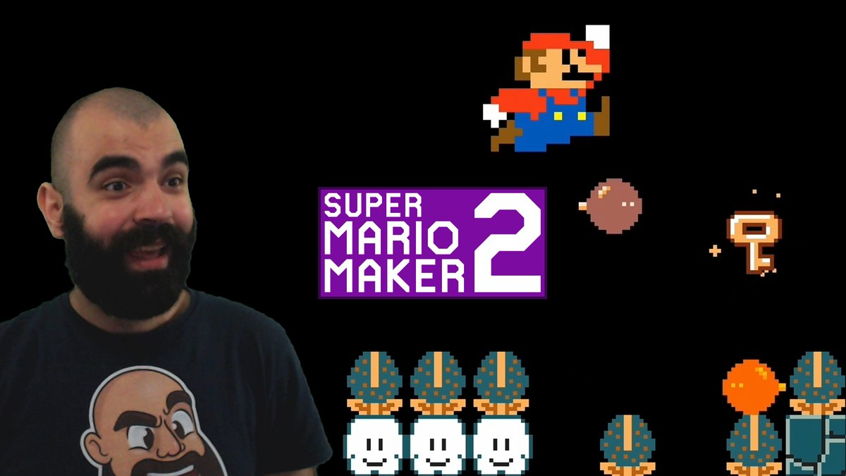 Super CRFraud World (GFK-VX9-58G) was TRICKY but also a lot of fun: youtube.com/watch?v=bY3vSE… #SuperMarioMaker2