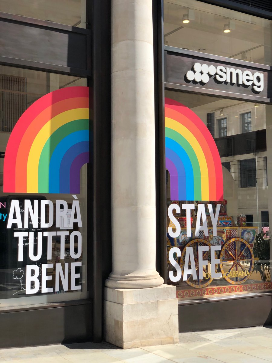 """""""Andrà tutto bene"""" - 🇮🇹 for """"everything will be alright!""""  @smeguk are proud to show their support and encouragement to everyone during this time. Just remember, stay strong, safe and at home - which in turn will help health services around the world.  #StayHome #SaveLives https://t.co/H8dM5YMLmn"""