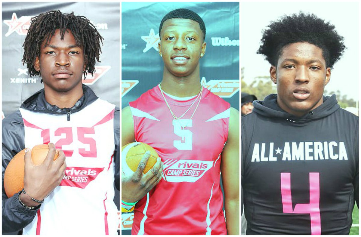 Rivals Rankings-New 2021 DB rankings: Click here: rvls.co/3cGxTjG The top 3 defensive backs ranked in California are Jaylin Davies (C), Calen Bullock (L), and Jamier Johnson (R). @jaylin_davies @MDFootball @Toby757 @CalenBullock @MuirFootball @JamierJohnson4 @CoachDanny10