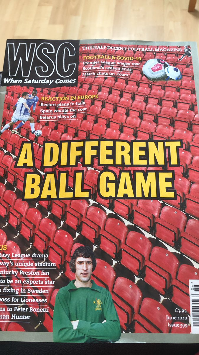 Excellent, the new @WSC_magazine arrived today. That's the next few days reading sorted.