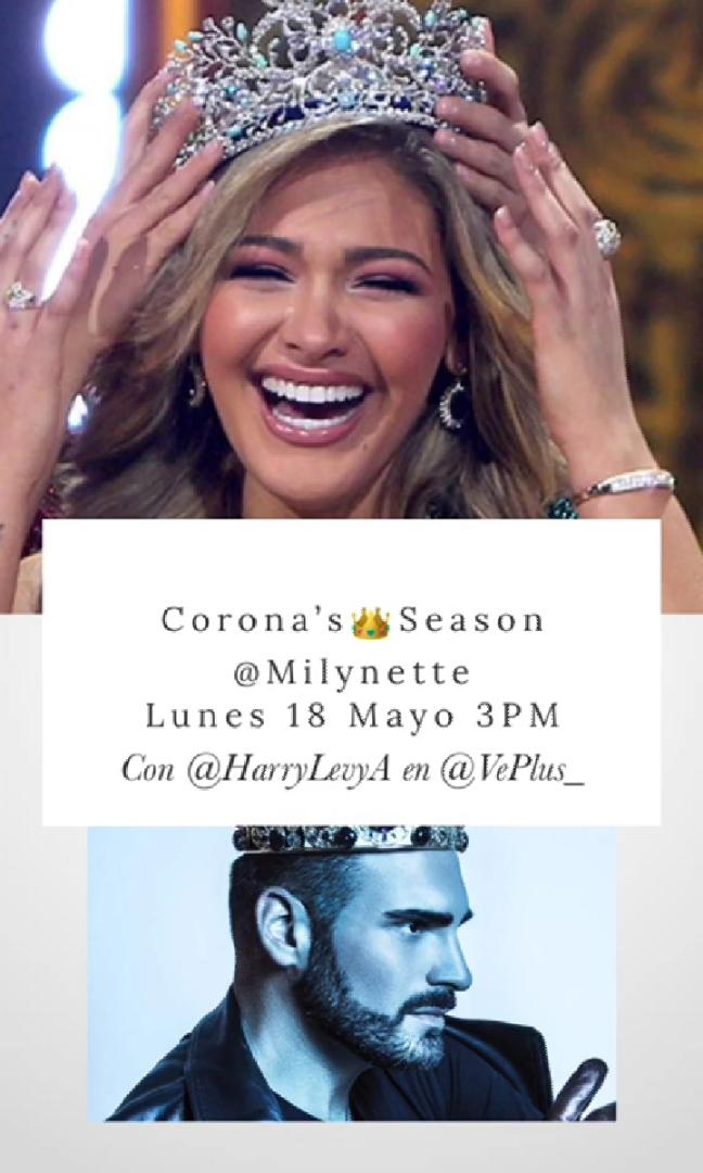 ¡No te lo puedes perder! Hoy a las 3:00 PM por el #Instagram de @VePlus_  👑@milynette @HarryLevyA  https://t.co/1G7Ez2NuT6 https://t.co/Cz4TxCWrZ2