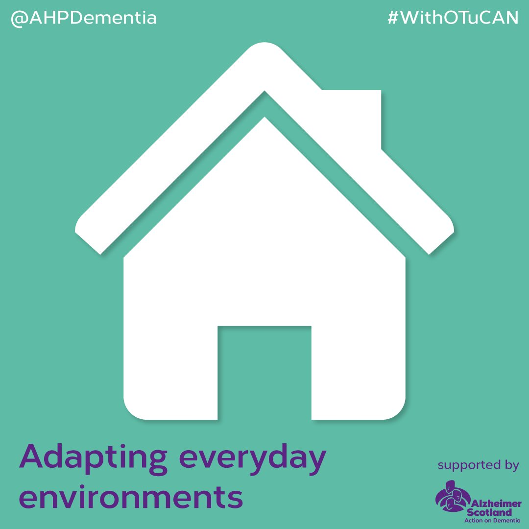 Allowing daylight into the home not only promotes a positive sleep pattern, aid mood and orientation to time but can support a person with #dementia's vision. Make sure that plants in your garden are not covering windows. #WithOTuCAN