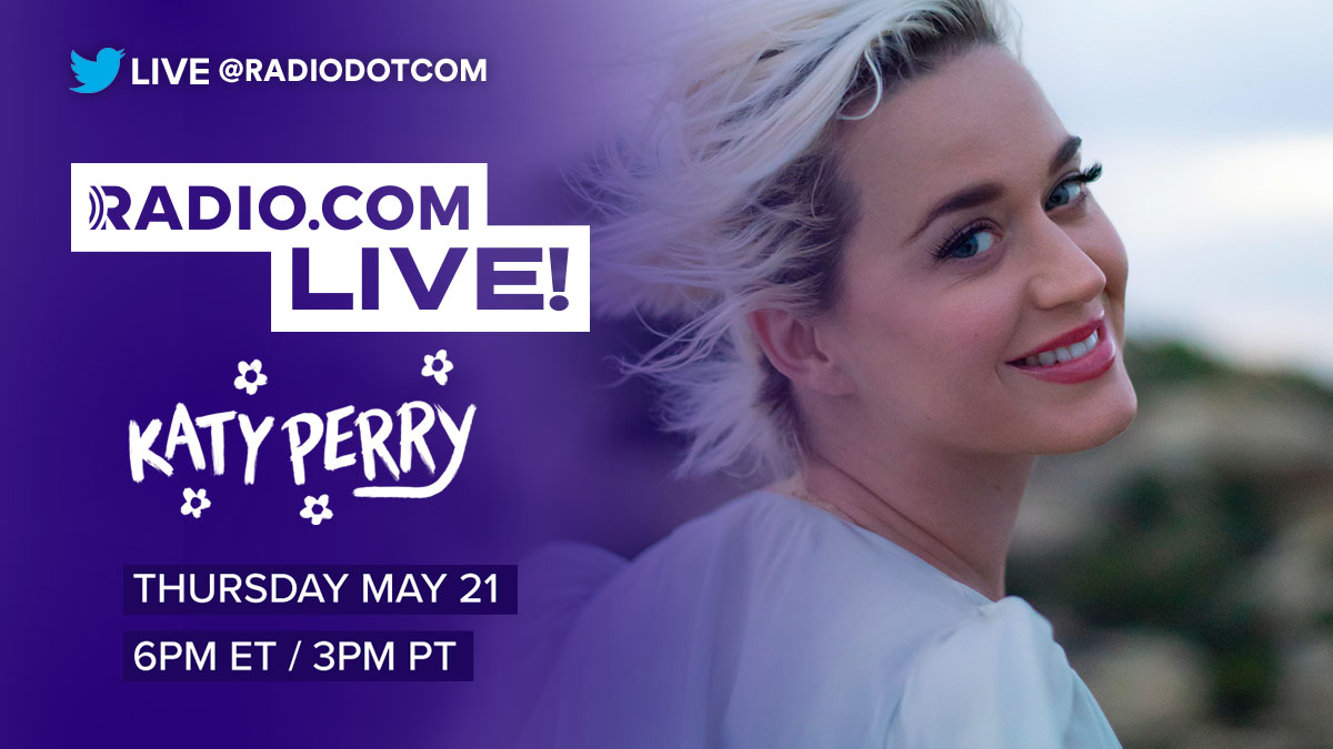 The forecast officially calls for #KP5! Join us for a #RadiocomLive at-home performance from @katyperry this Thursday! 🌼 🌼 🌼 https://t.co/yAccSZBDPk https://t.co/qRnVVZxyF7