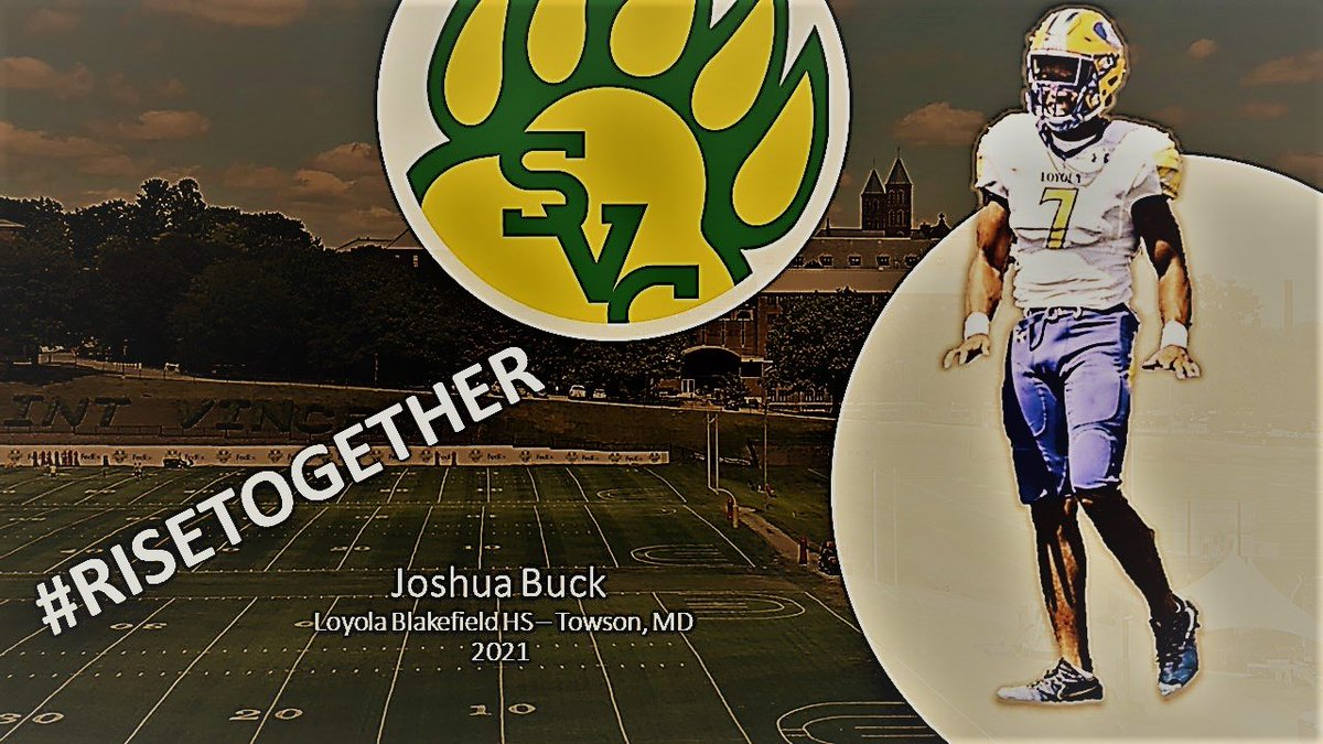 Thanks to Saint Vincent College For showing love. @CoachPHamilton