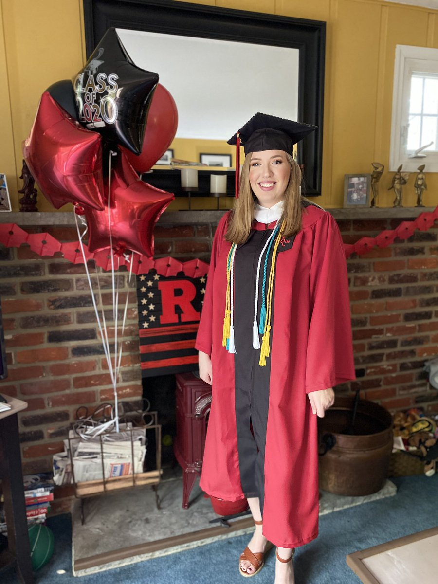 #russw2020 @rutgersssw Anna Bradley we are so proud of you!!