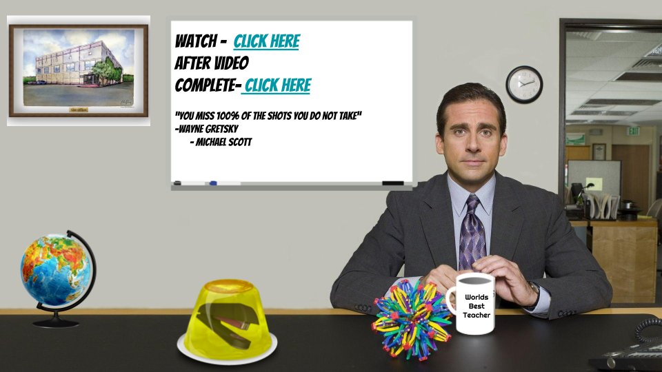 My take on the #virtualclassroom using @theofficenbc for a fun way to provide a #hyperlink lesson. @SteveCarell @ElRanchoSchools @RubenSalazarHS