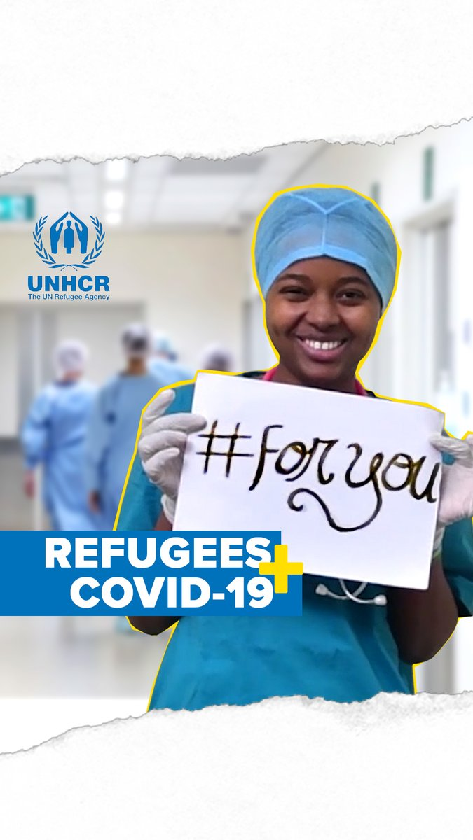Young. Refugee. Responders. #ForYou