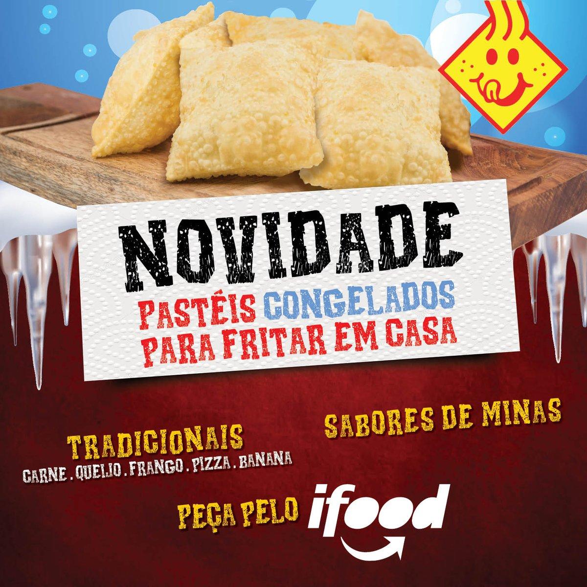 Deliciosa NOVIDADE! Peça pelo IFOOD os sabores da Pastelândia congelados para fritar em casa quando quiser. #pastelandia #pastel #congelados #delivery #ifoodpic.twitter.com/jQwXkCI2HR