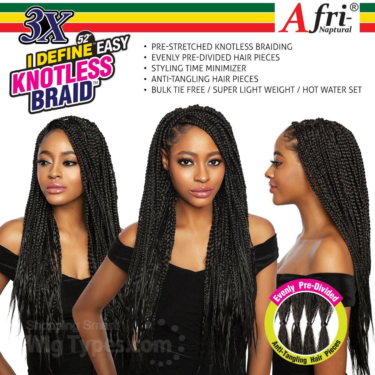 Isis Afri Naptural Synthetic Hair Braid - BRD308 3X I DEFINE EASY KNOTLESS BRAID 52 (https://soo.nr/QRUm)  . . . #wigtypes #wigtypesdotcom #trendyhair #protectivestyles #blackgirlhair #instahair #Longbraid #syntheticbraid #isisafribraid #brd308 #3xidefineeasyknotlessbraid52pic.twitter.com/D0eHYWn5pU