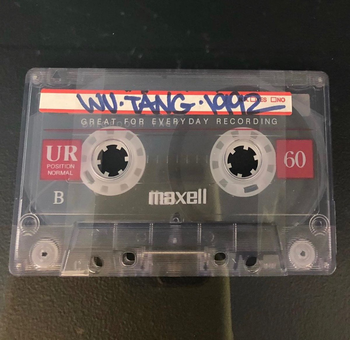 What do you know about this? #wutang #cassettetapes #hiphop #90shiphop #musicmondays