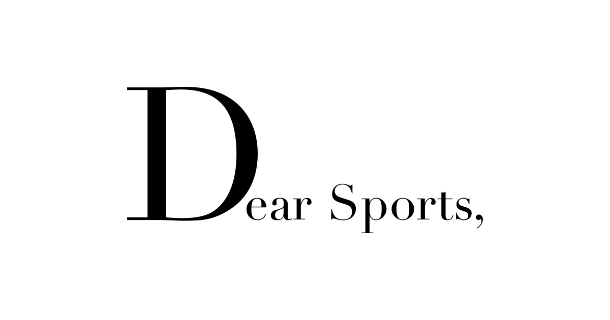 #DearSports, we have so much to say, and @espn has given us the space to say it. @ESPNEvents bit.ly/3bDLDKN