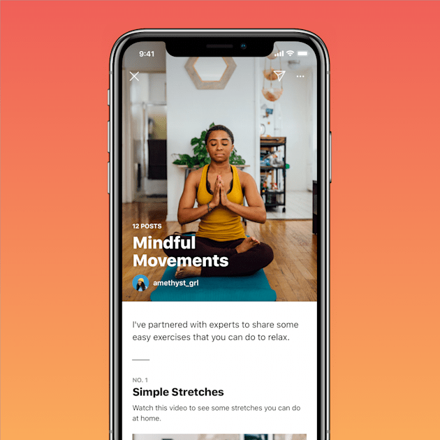 Instagram introduces 'Guides' for wellness tips