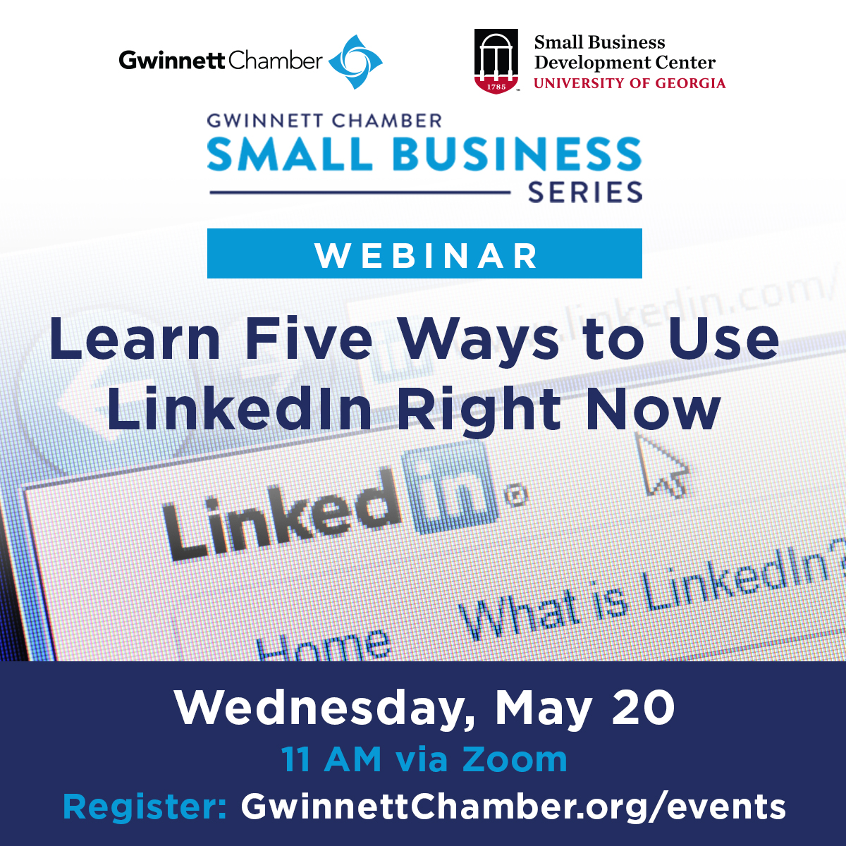 Five high-impact areas will be covered at this insightful event. #GwinnettSmallBiz Register: bit.ly/3bwSPrT