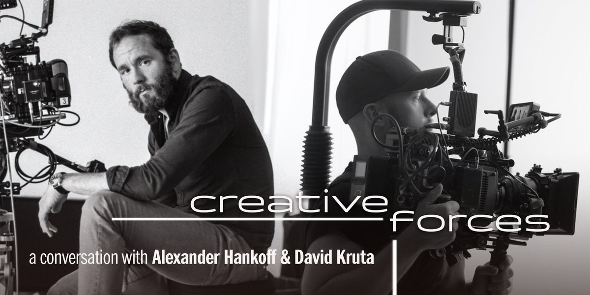 TOMORROW'S THE DAY!  Make sure to join @hashtaghankoff and @dkruta (along with moderator @jeffleephoto) at 2pm PT / 5pm ET for our next #CreativeForces Online! http://www.abelcine.com/learn/calendar/creative-forces-online-alexander-hankoff-and-david-kruta… | sponsors: @ARRIChannel  @SonyCinepic.twitter.com/rUOS93qVt7