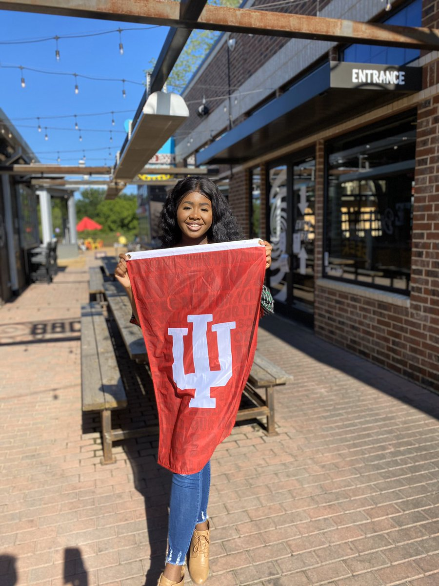 It's official, I'm Indiana Bound ❤️🤍❤️ #iu2024 #GoHoosiers