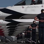 Image for the Tweet beginning: From the latest @AFThunderbirds video.